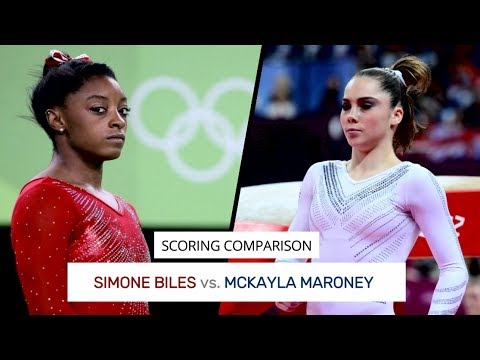 Simone Biles vs. McKayla Maroney: Scoring Comparison