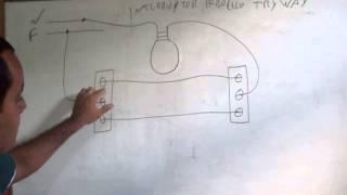 eletrica-como ligar interruptor paralelo (try way)