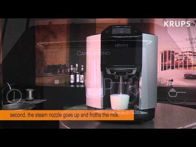 KRUPS EA9010 - How To Make A Cappuccino