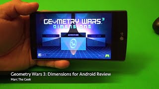 Geometry Wars 3: Dimensions for Android Review