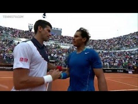 (Highlights HD) Rafael Nadal vs Novak Djokovic - Rome 2014 Final