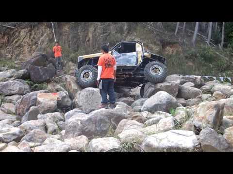 ランクル70  W.E.Rock!!! おっぱい岩
