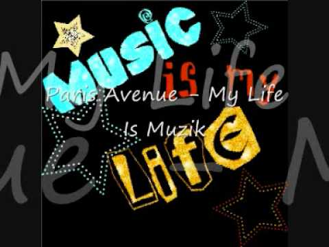 Клип Paris Avenue - My Life Is Muzik