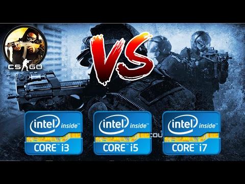 Intel Core i3 vs i5 vs i7 | CSGO Gaming Performance (1024x768)