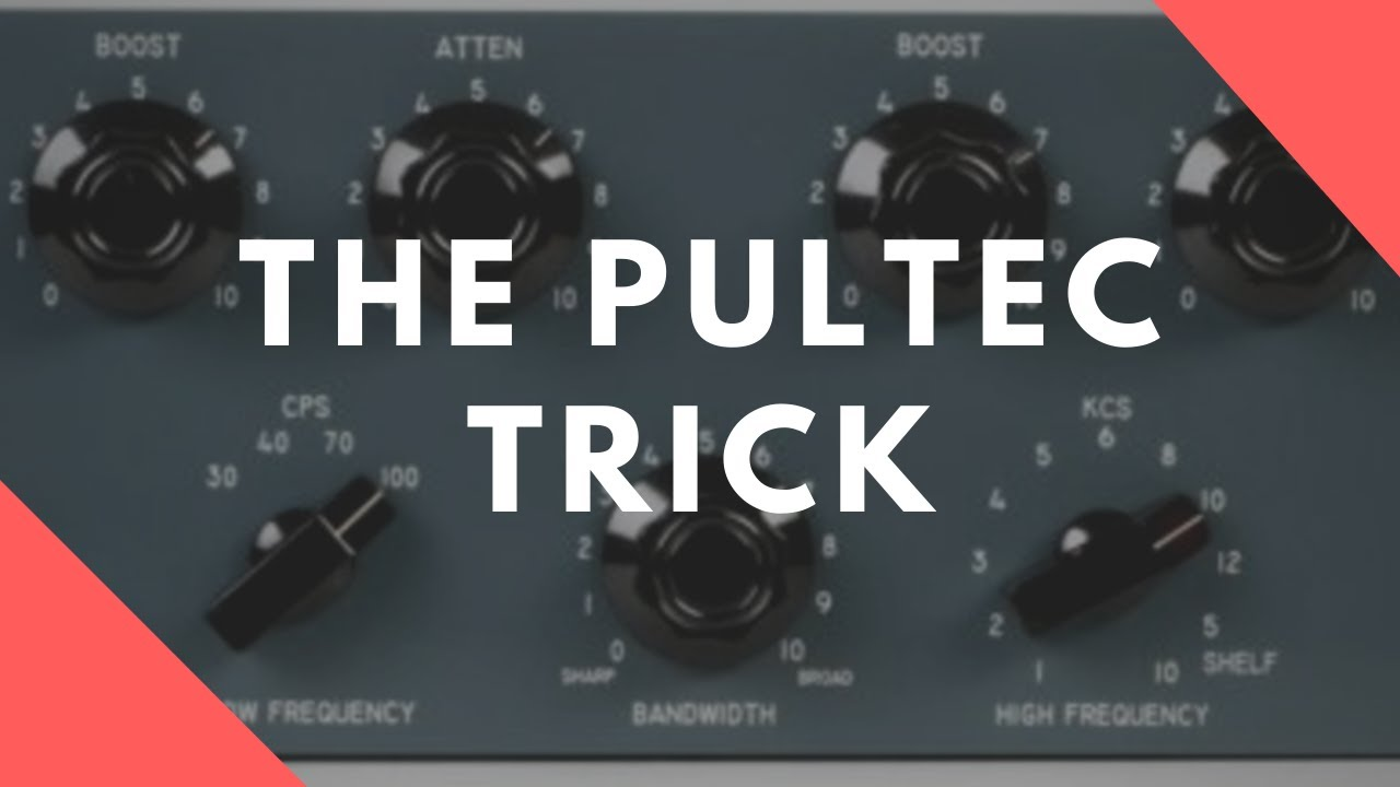 The Pultec Trick WITHOUT A Pultec!