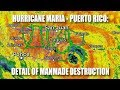 Hurricane Maria - Puerto Rico: Detail of Manmade Destruction