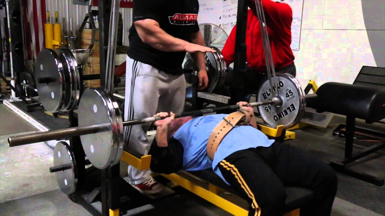 elitefts.com — Reverse Band Bench Press Drop Set with ...