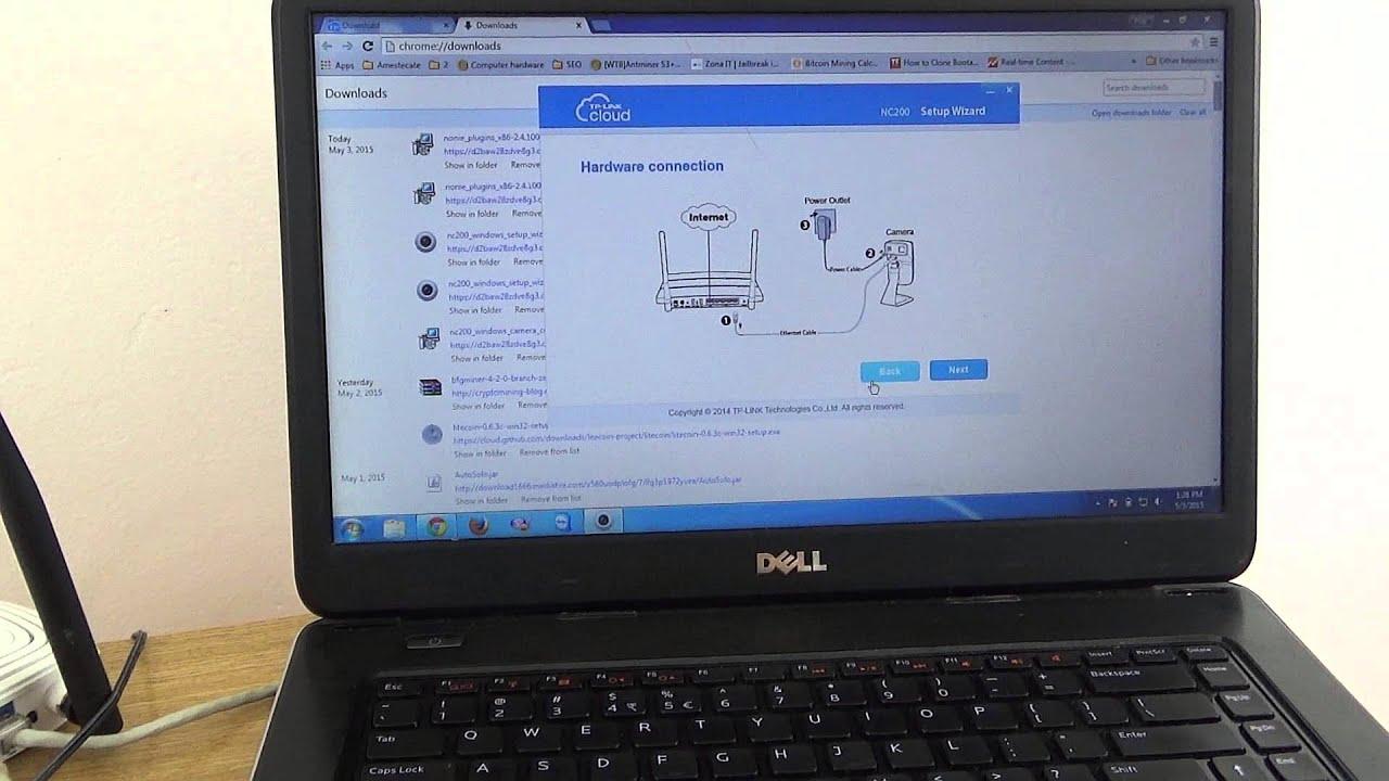 TP-LINK Cloud Camera - NC200 - YouTube