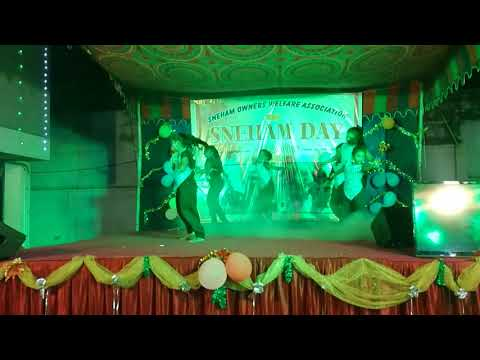 Girls Dance At Apartment Annual Day Choreography By  Dancer Lambo Kanna Contact  8220746581