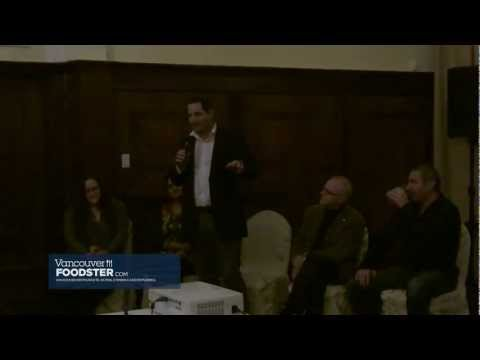 Q&A from Food Talks Vancouver Vol 5 - Hosted by Richard Wolak