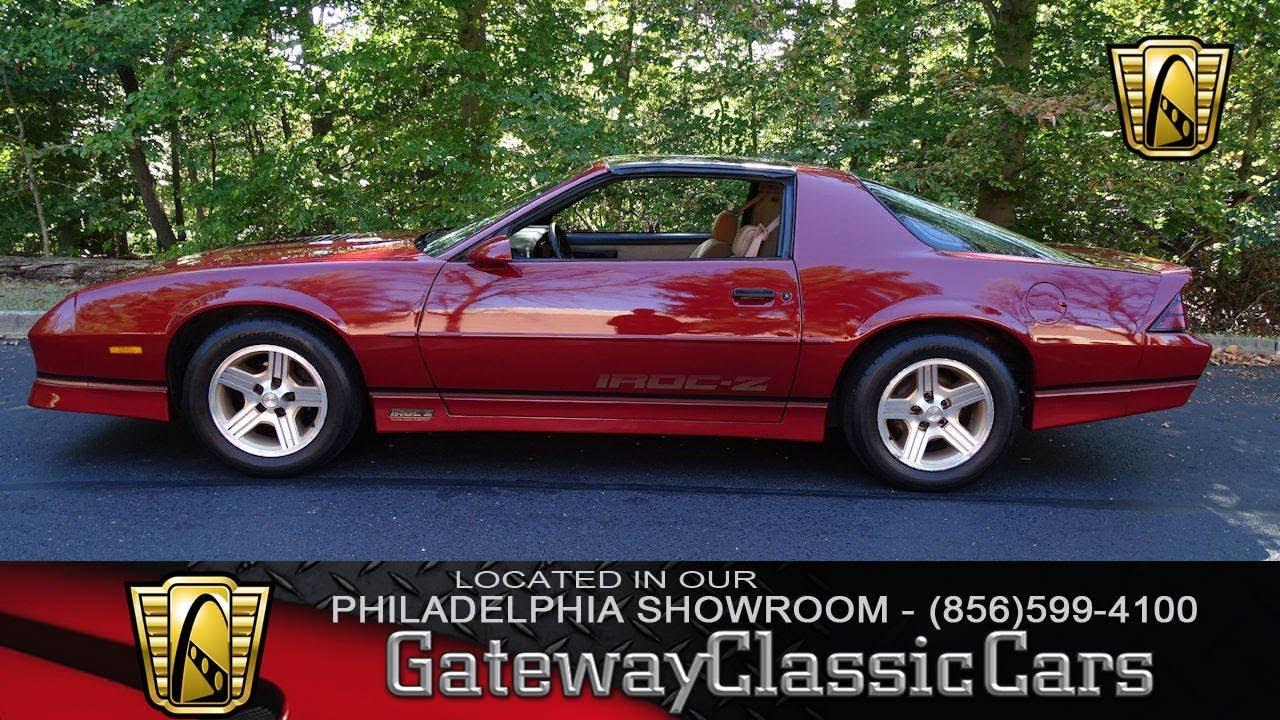 Camaro 1988 chevy camaro : 1988 Chevrolet Camaro IROC-Z, Gateway Classic Cars Philadelphia ...