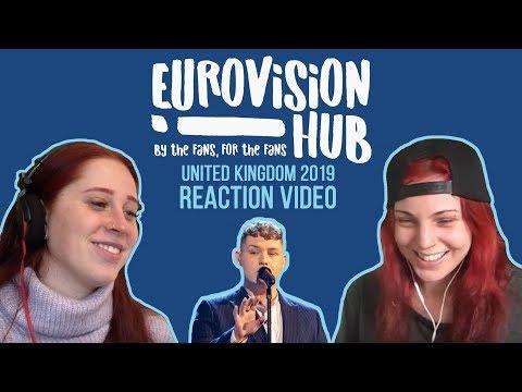 United Kingdom | Eurovision 2019 Reaction Video | Michael Rice - Bigger Than Us