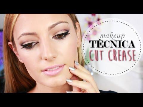Maquillaje con la técnica CUT CREASE - YouTube - photo #38