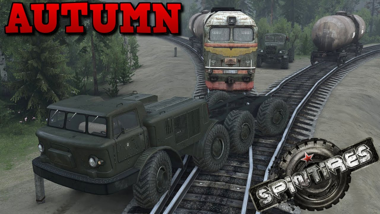 Spintires autumn map mod zil 135m youtube sciox Images