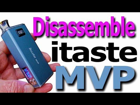 iTaste MVP 2 vape Mod Teardown breakdown take apart and disassemble