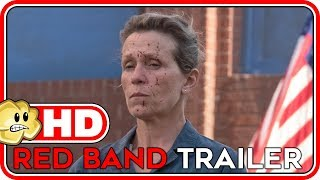 Three Billboards Outside Ebbing, Missouri Official RED BAND Trailer HD (2018) Comedy Movie