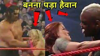 5 WWE Wrestlers That turned into Devils Due to Script ! Viscera Attacks Trish Stratus !