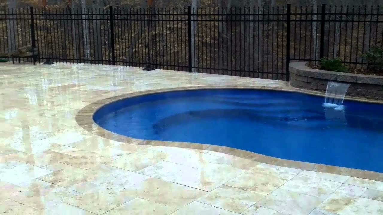 Fiberglass swimming pool installation tesimonial youtube Fiberglass swimming pool installation