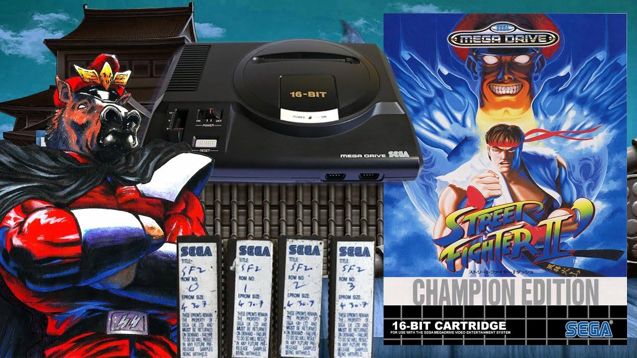 Street Fighter II Special Champion Edition: su tortuoso camino a Mega Drive