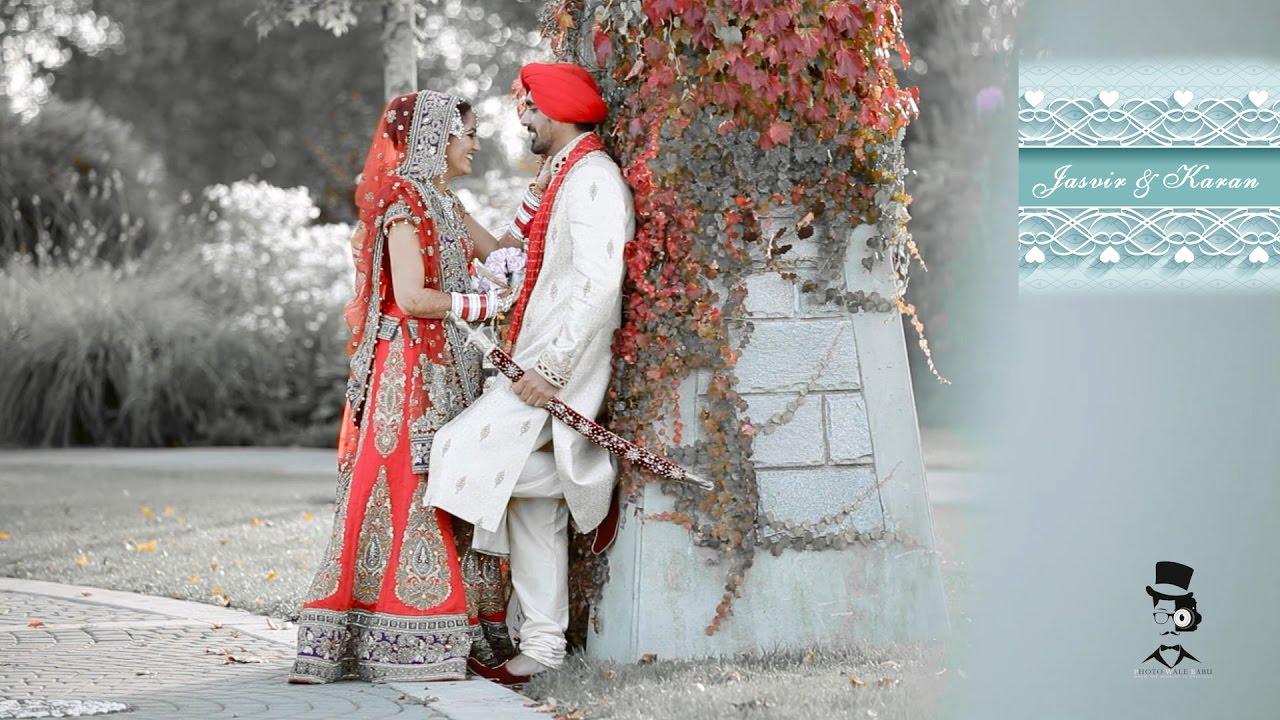 Best Indian Punjabi Sikh Wedding Reception Video Song Highlights