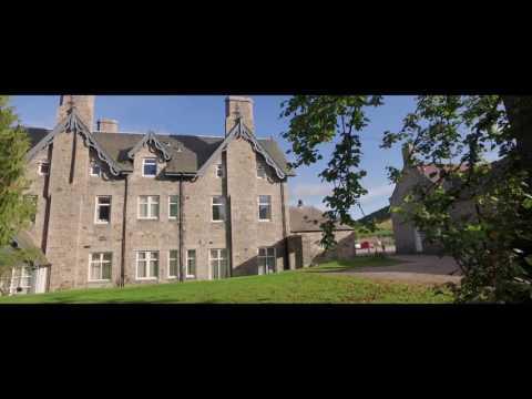 Invercauld Arms Hotel, Braemar. Shot with a DJI Phantom 3 Professional and a DJI Osmo in 4K