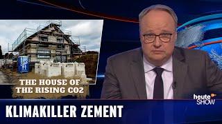 Drei Milliarden Tonnen CO2 jedes Jahr – allein durch Zement