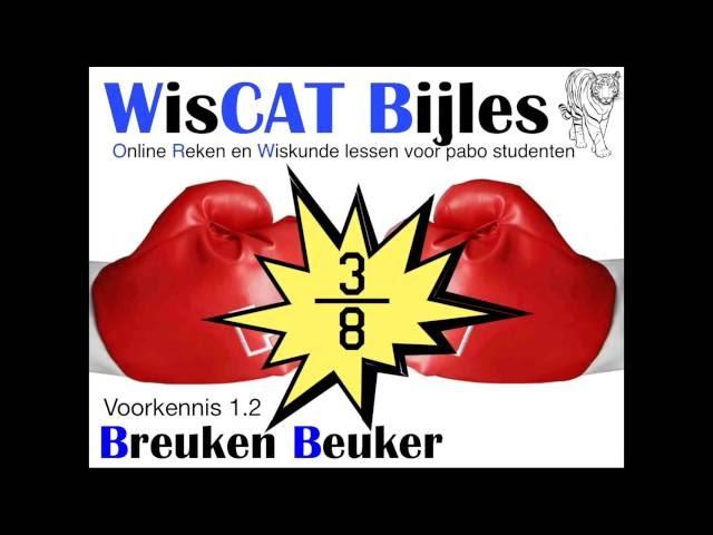 Breuken Beuker - WisCAT Werkboek: Voorkennis 1.2
