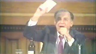 Fragment din şedinţa CPUN premergătoare Mineriadei din 13-15 iunie 1990