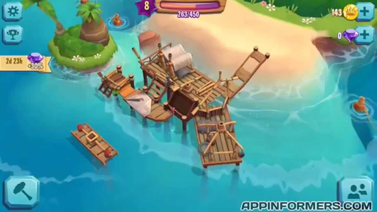 how to get lots of gems and coins free in paradise bay youtube