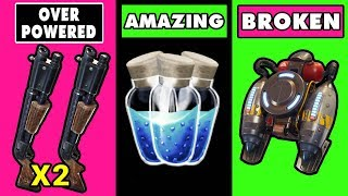 5 Things So OVERPOWERED It BROKE Fortnite ~ Fortnite Battle Royale Top 5
