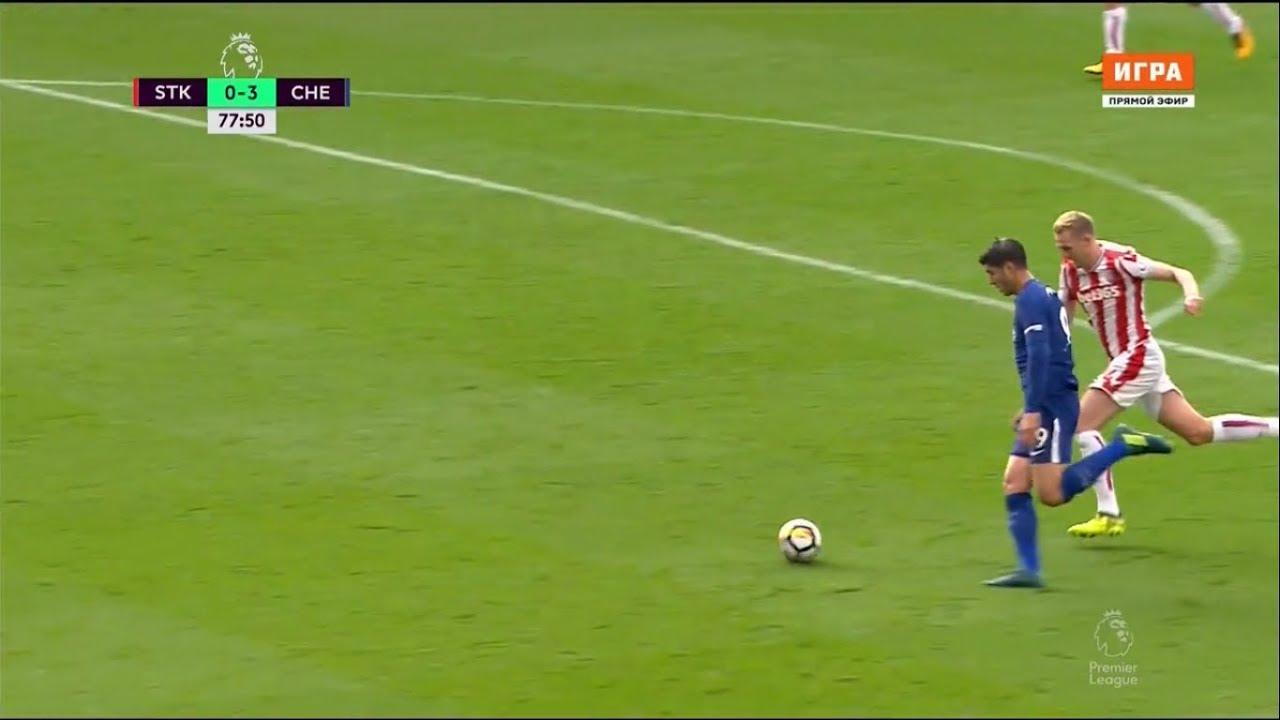 Download Alvaro Morata vs Stoke City (Away) 23/09/17 HD