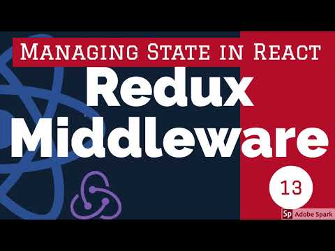 Redux Middleware: React Redux Training