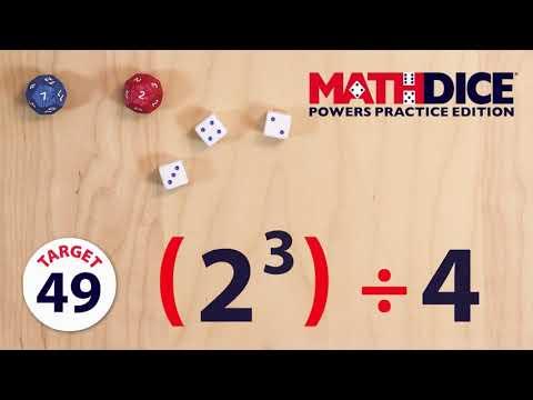 Think Fun lauamäng Math Dice