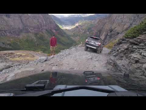 Black Bear Pass with a Stock Jeep JK Sport