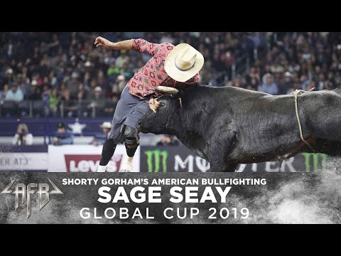 Shorty Gorham's American Freestyle Bullfighting   Sage Seay