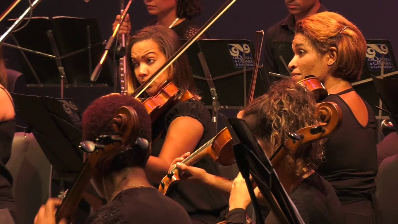 Ahmed Alom plays Chopin Concerto no.2 plus encores, with Havana Chamber Orchestra.
