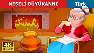 Neşeli büyükanne   The Cheerful Granny in Turkish   Turkish Fairy Tales