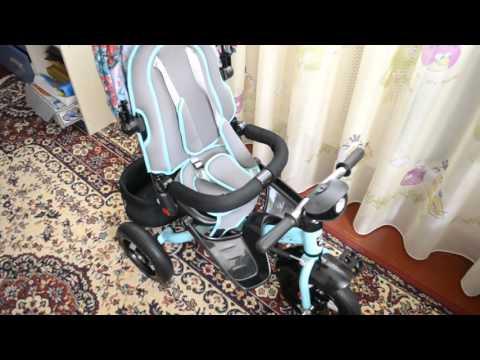 Велосипед трехколесный на надувных колесах Mars Mini Trike