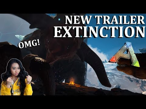 Ark Survival Evolved Extinction DLC Official Trailer Reaction!