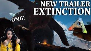 Ark Survival Evolved Extinction DLC Official Trailer Reaction!