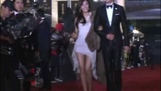 Kang Ji Hwan and Kim Ha Neul at 29th Blue Dragon Awards red carpet 2