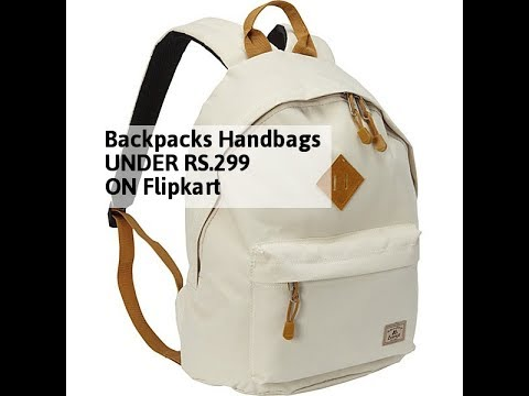 54cb4bc7a17f Backpacks Handbags UNDER RS.299 ON Flipkart ( किफायती दाम ...