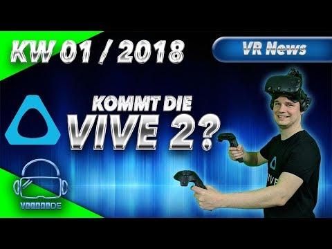 Virtual Reality News (Wochenrückblick KW01/18) [VR Games][VR Hardware][Vive][Rift][Pimax][WMR][PSVR]