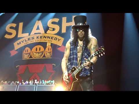 Slash ft Myles Kennedy & The Conspirators – Anastasia – Zenith Paris 22 feb 2019