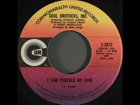 SOUL BROTHERS INC   I SAW FOREVER MY LOVE
