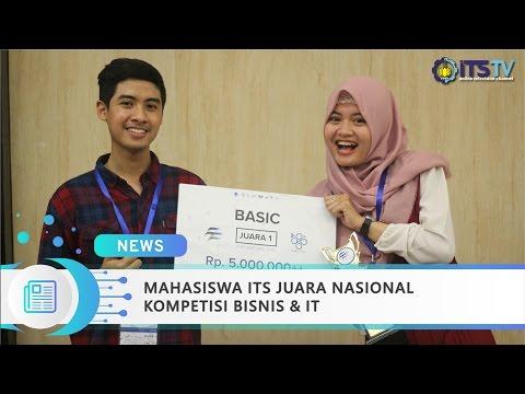 Mahasiswa ITS Juara Nasional Kompetisi Bisnis & IT