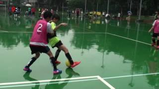 賽馬會五人足球盃U15分組賽 羅氏基金中學對保良局朱敬文中學