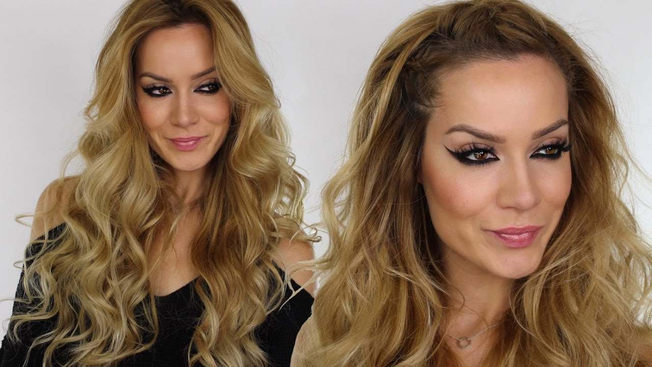 Braids u0026 Waves Hair Tutorial Hairstyle