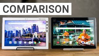 Comparison: Lenovo Tab 4 10 Plus vs. Huawei MediaPad M3 Lite 10