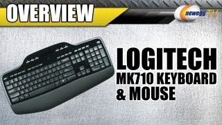 Newegg TV: Logitech MK710 Wireless Keyboard & Mouse Overview